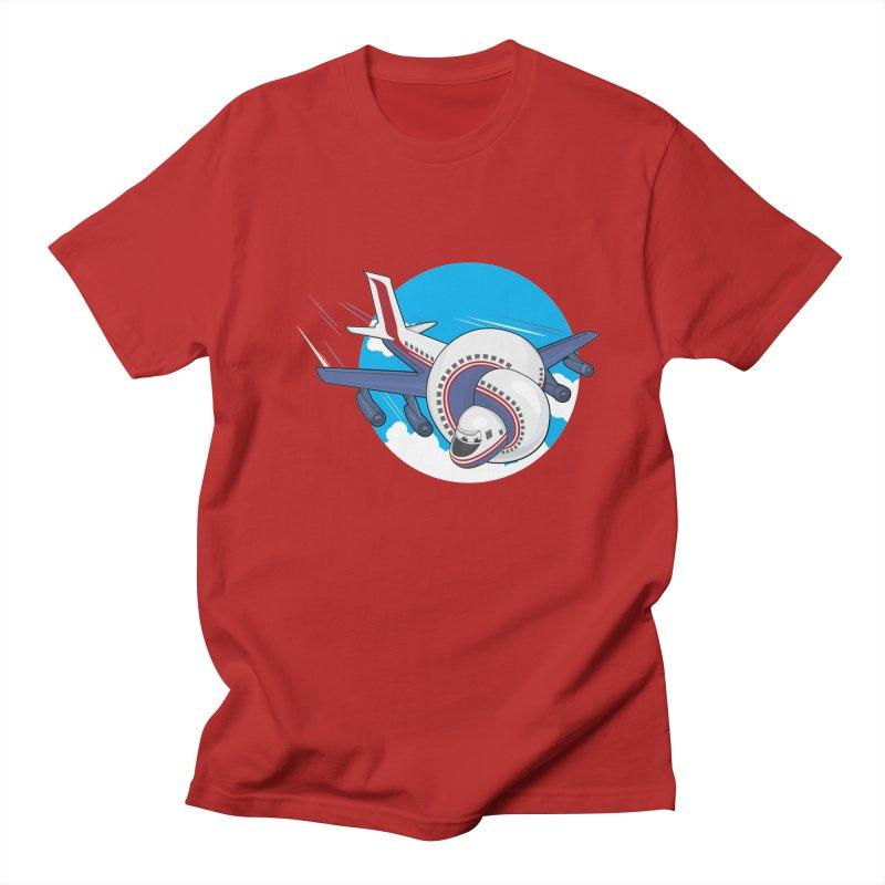 AIRPLANES! Men's T-shirt by VarieTeez Designs