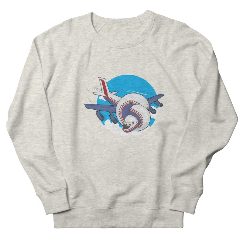 AIRPLANES! Men's French Terry Sweatshirt by VarieTeez Designs