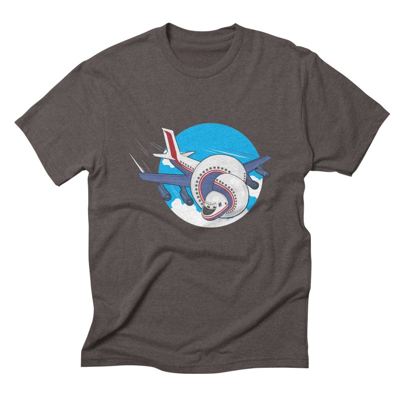 AIRPLANES! Men's Triblend T-Shirt by VarieTeez Designs