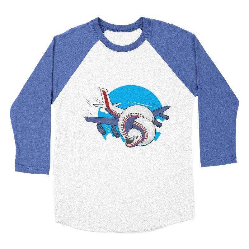 AIRPLANES! Women's Baseball Triblend T-Shirt by VarieTeez Designs