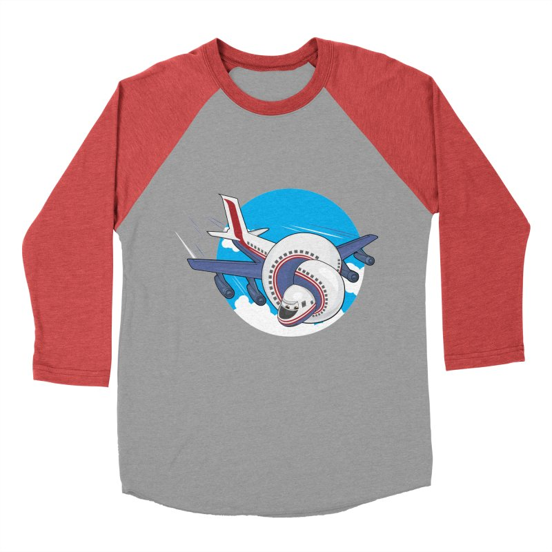 AIRPLANES! Men's Baseball Triblend Longsleeve T-Shirt by VarieTeez Designs