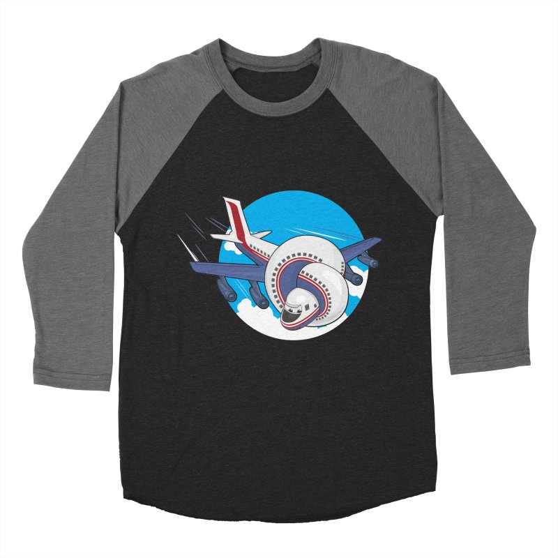 AIRPLANES! Men's Baseball Triblend Longsleeve T-Shirt by VarieTeez Designs