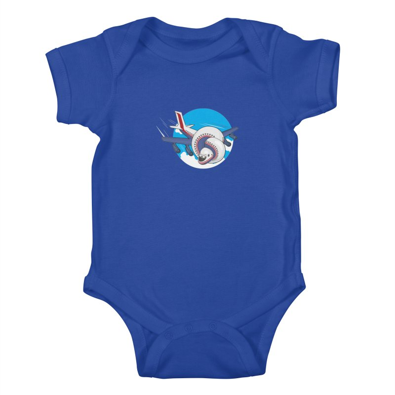 AIRPLANES! Kids Baby Bodysuit by VarieTeez Designs