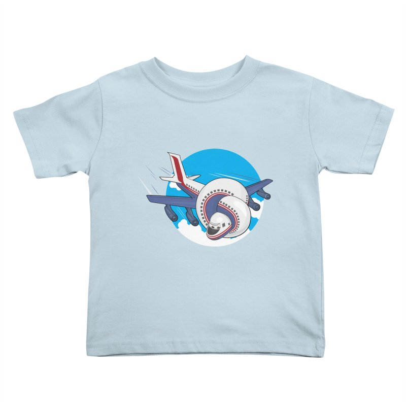 AIRPLANES! Kids Toddler T-Shirt by VarieTeez Designs