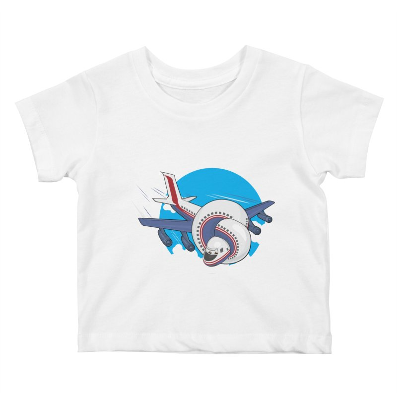 AIRPLANES! Kids Baby T-Shirt by VarieTeez Designs