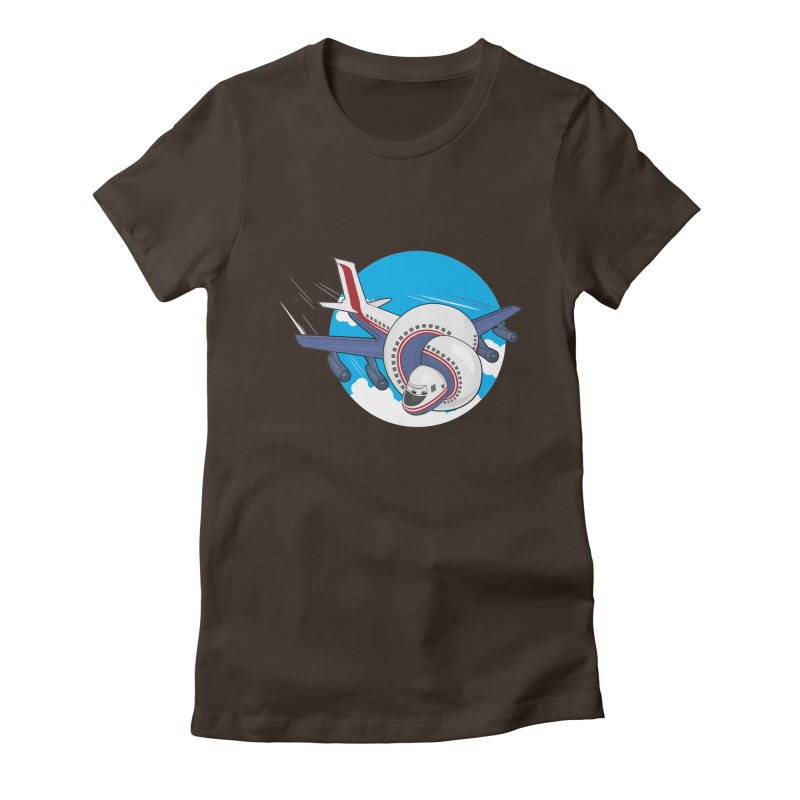 AIRPLANES! Women's T-Shirt by VarieTeez Designs