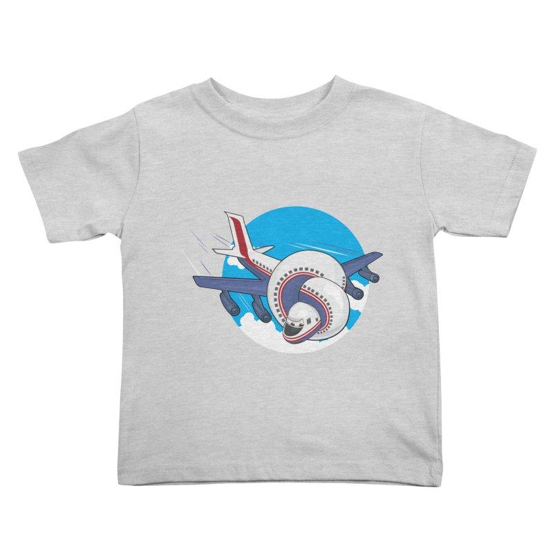 AIRPLANES! Kids Toddler T-Shirt by VarieTeez's Artist Shop