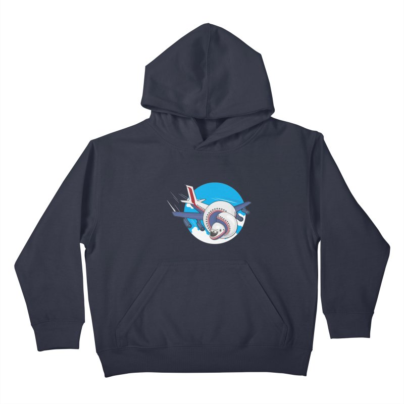 AIRPLANES! Kids Pullover Hoody by VarieTeez's Artist Shop