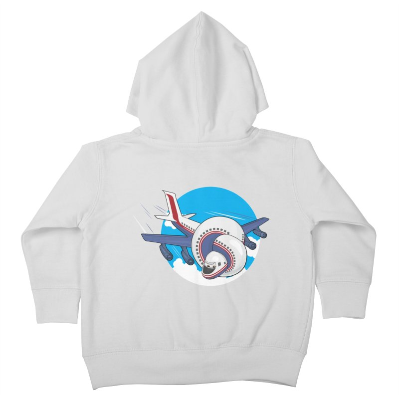 AIRPLANES! Kids Toddler Zip-Up Hoody by VarieTeez Designs