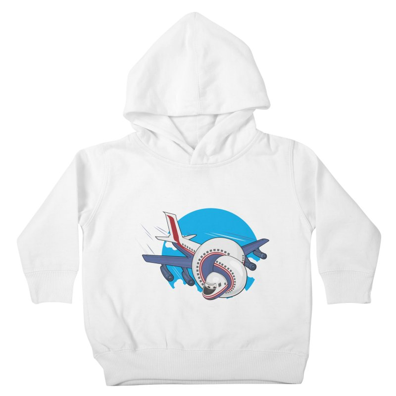 AIRPLANES! Kids Toddler Pullover Hoody by VarieTeez Designs