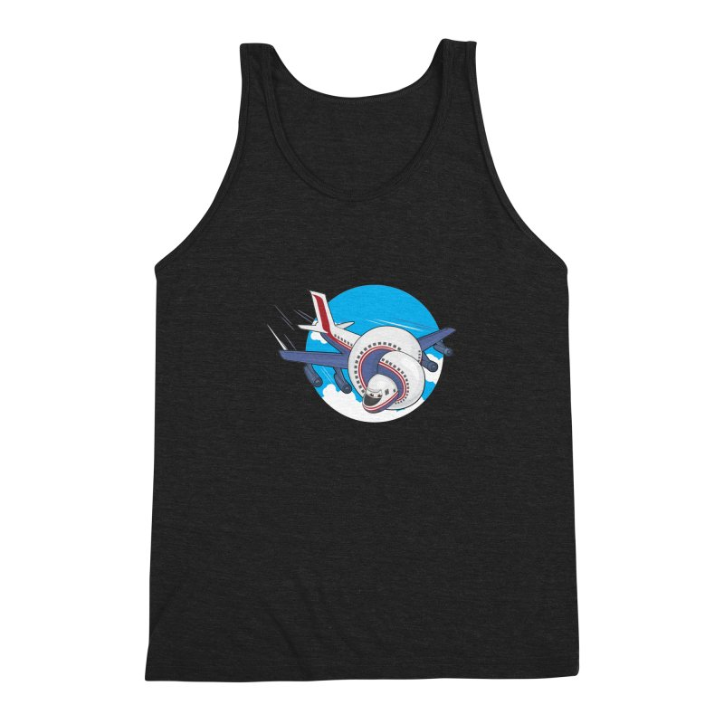 AIRPLANES! Men's Triblend Tank by VarieTeez Designs