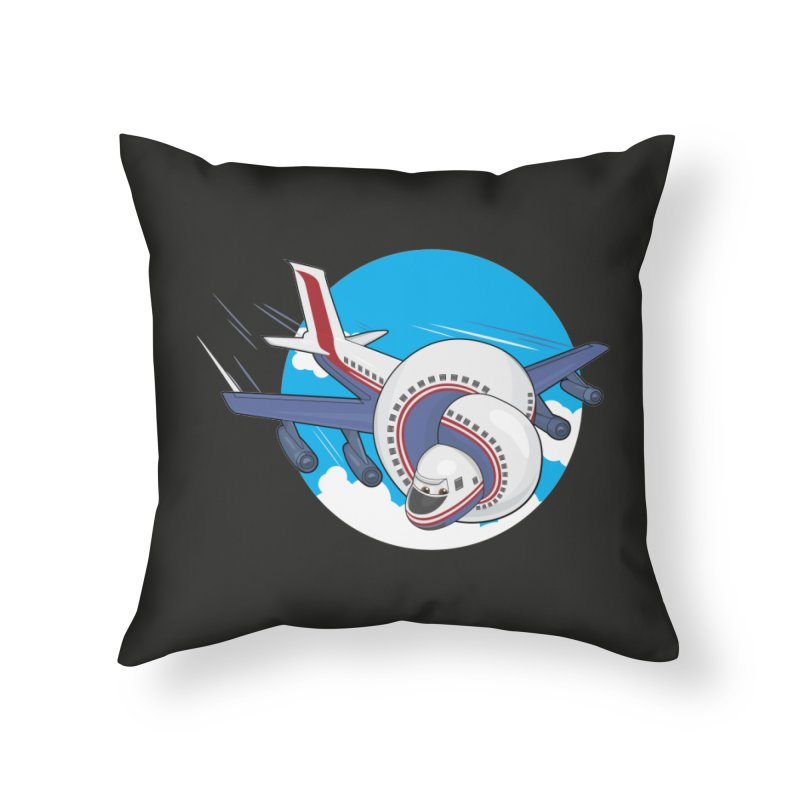 AIRPLANES! Home Throw Pillow by VarieTeez Designs