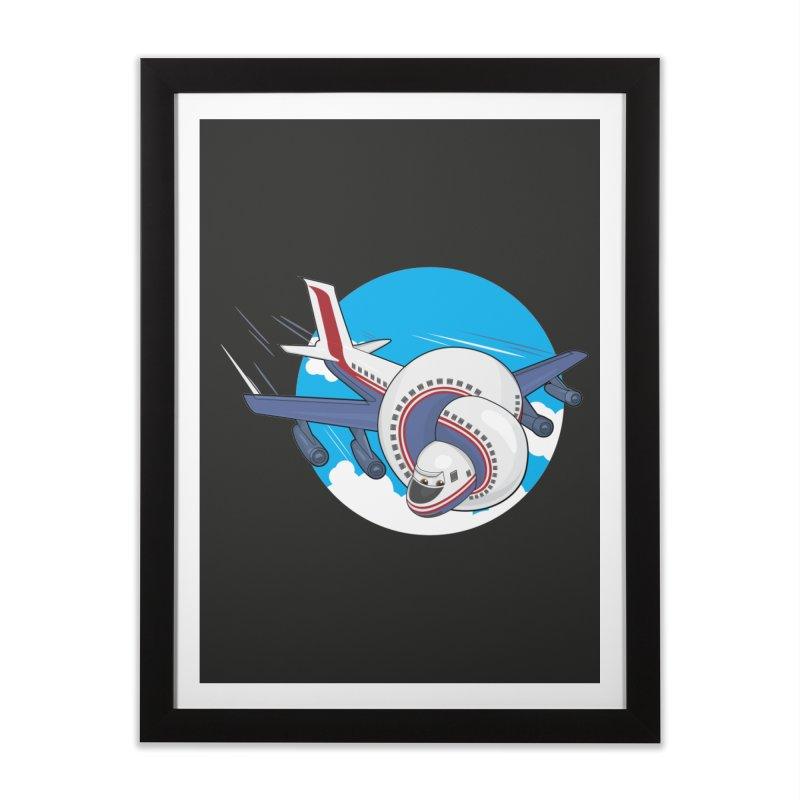 AIRPLANES! Home Framed Fine Art Print by VarieTeez Designs