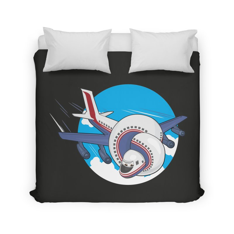 AIRPLANES! Home Duvet by VarieTeez Designs