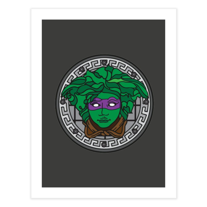 Donatello VERSACE Home Fine Art Print by VarieTeez Designs