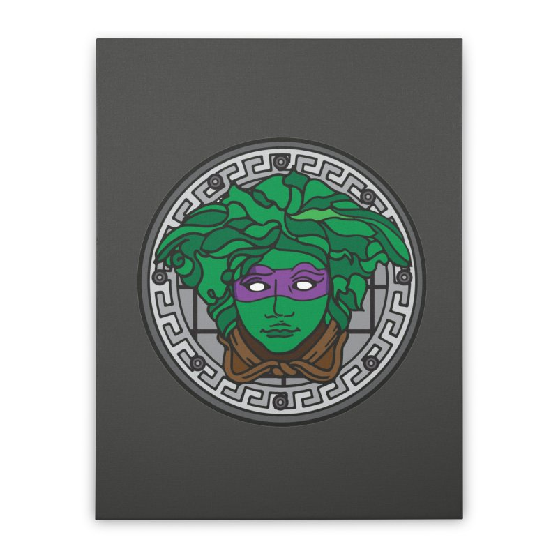 Donatello VERSACE Home Stretched Canvas by VarieTeez Designs