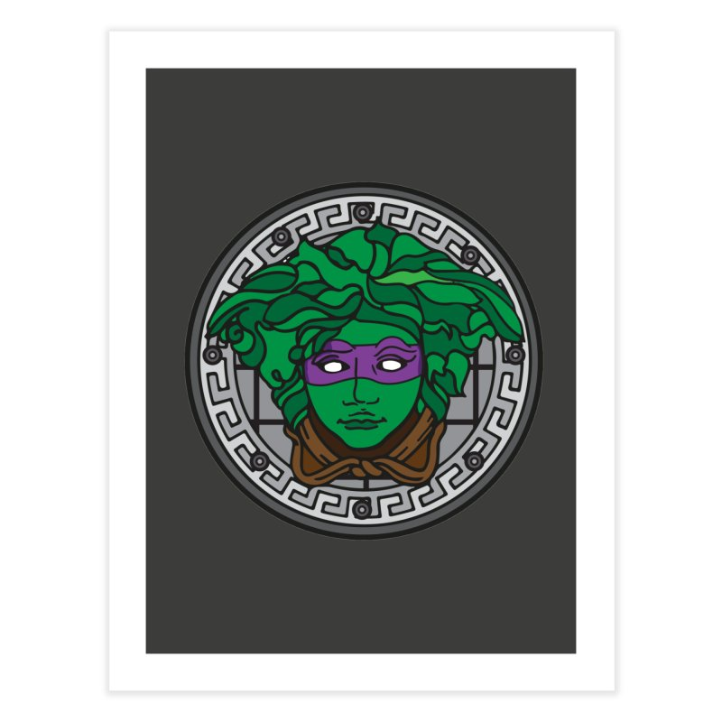 Donatello VERSACE Home Fine Art Print by VarieTeez Designs