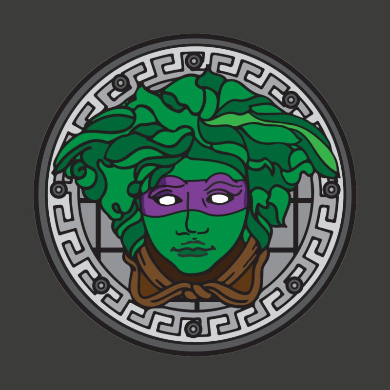 Donatello VERSACE Kids Toddler Longsleeve T-Shirt by VarieTeez Designs