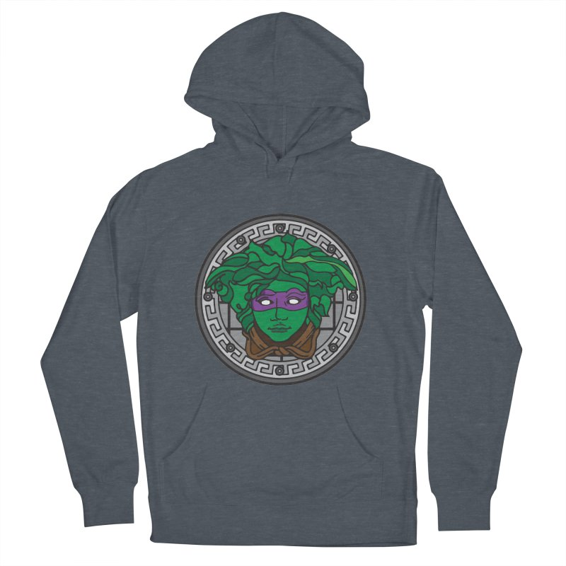 Donatello VERSACE Women's French Terry Pullover Hoody by VarieTeez Designs