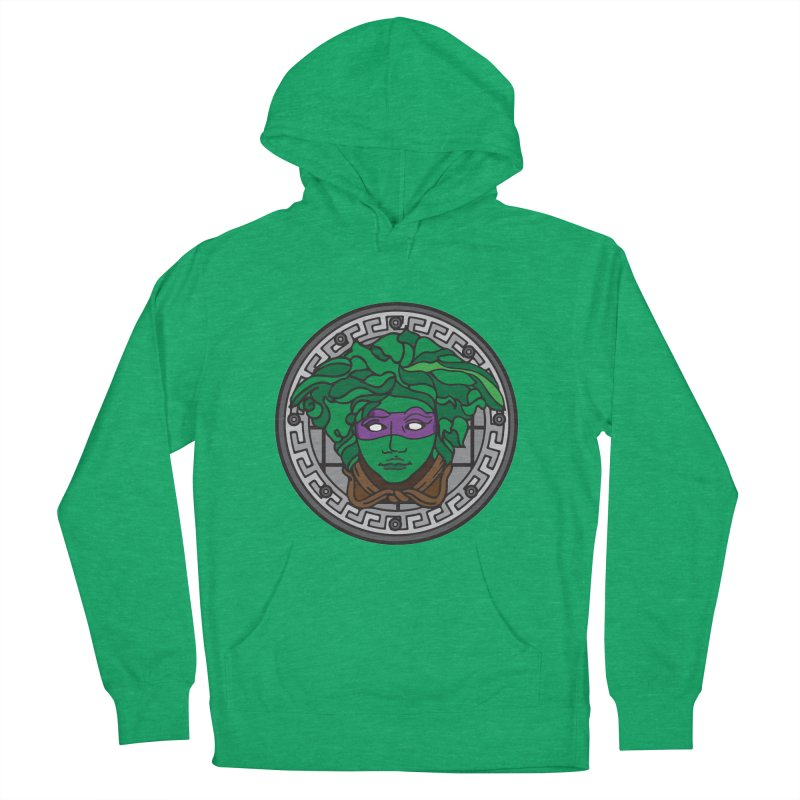 Donatello VERSACE Men's French Terry Pullover Hoody by VarieTeez Designs