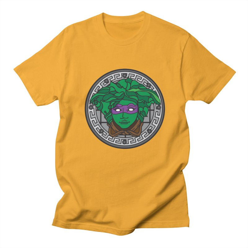 Donatello VERSACE Men's T-shirt by VarieTeez Designs