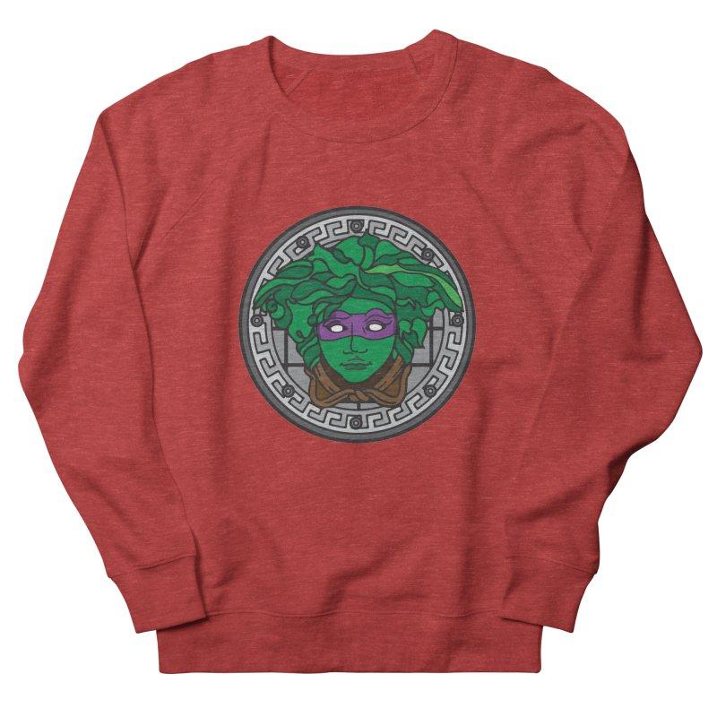Donatello VERSACE Men's French Terry Sweatshirt by VarieTeez Designs