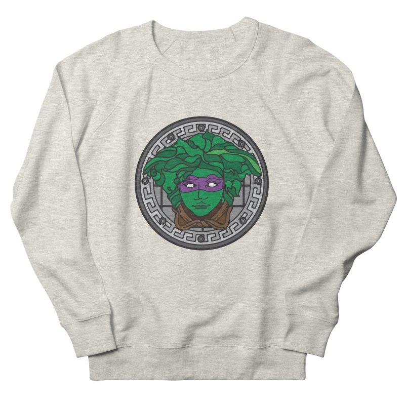 Donatello VERSACE Men's French Terry Sweatshirt by VarieTeez Designs