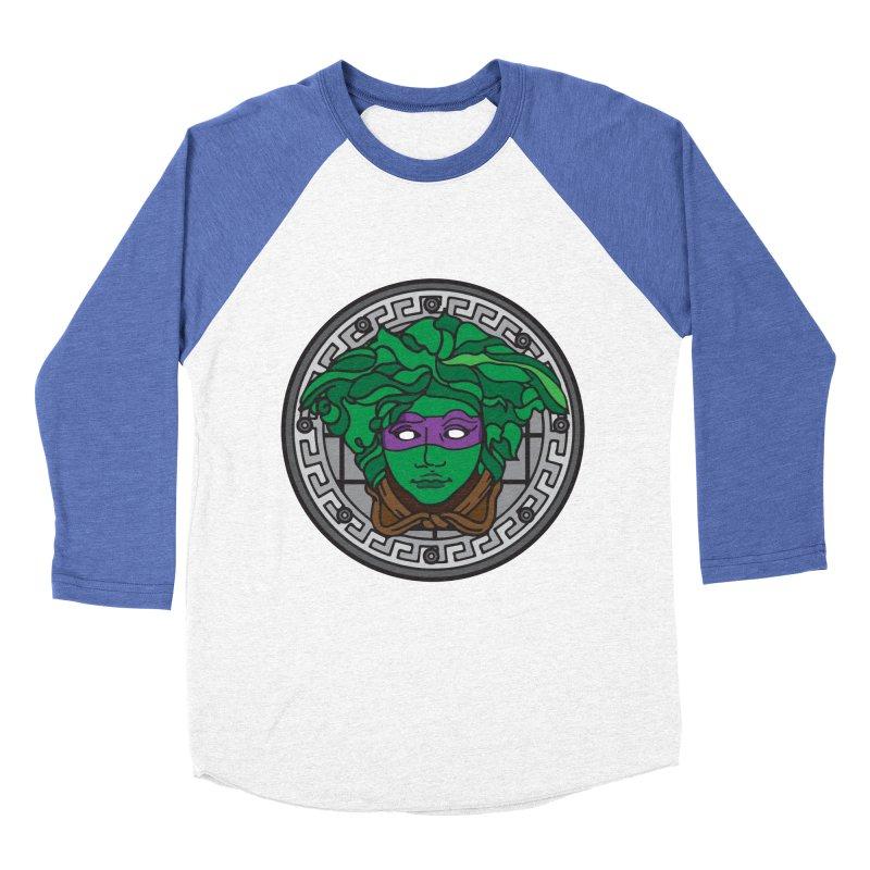 Donatello VERSACE Women's Baseball Triblend Longsleeve T-Shirt by VarieTeez Designs
