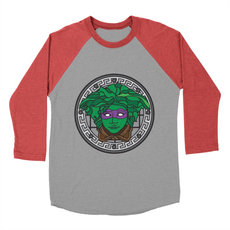 Donatello VERSACE Men's Baseball Triblend Longsleeve T-Shirt by VarieTeez Designs