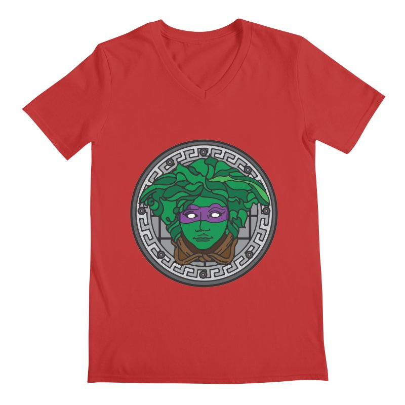 Donatello VERSACE Men's Regular V-Neck by VarieTeez Designs