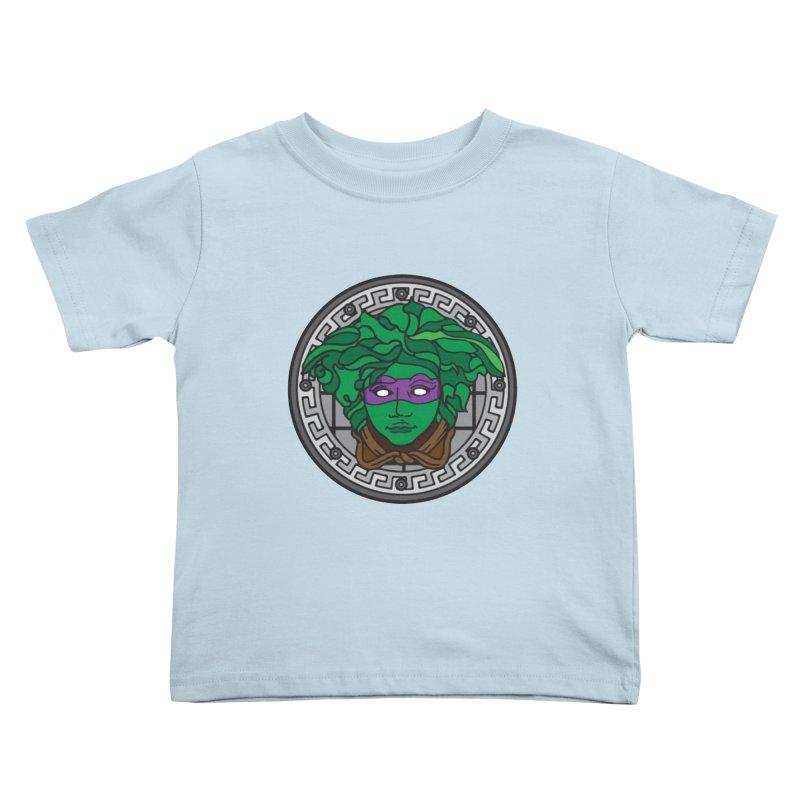 Donatello VERSACE Kids Toddler T-Shirt by VarieTeez Designs