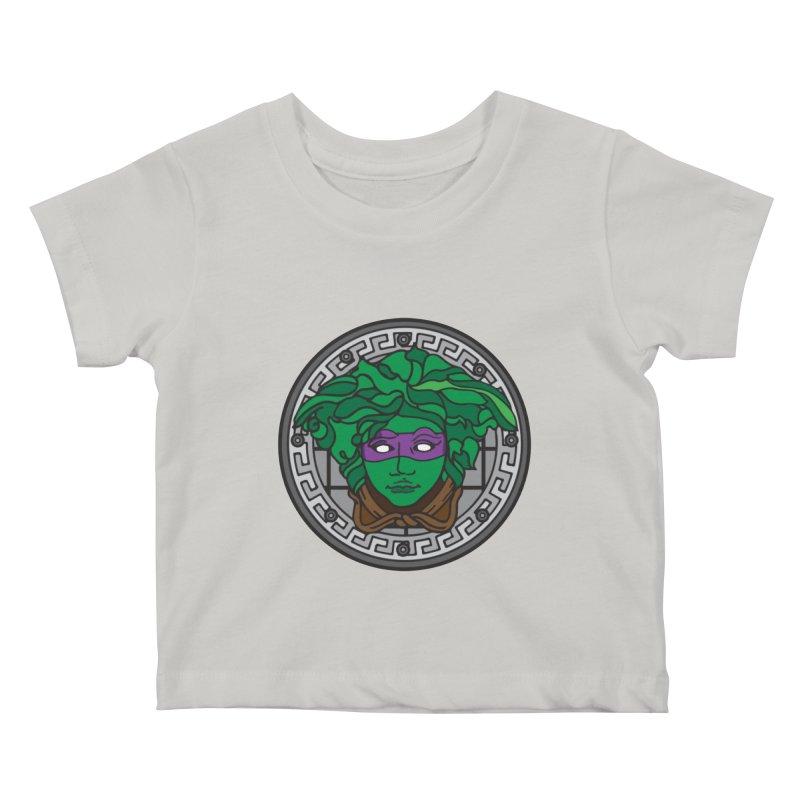 Donatello VERSACE Kids Baby T-Shirt by VarieTeez Designs