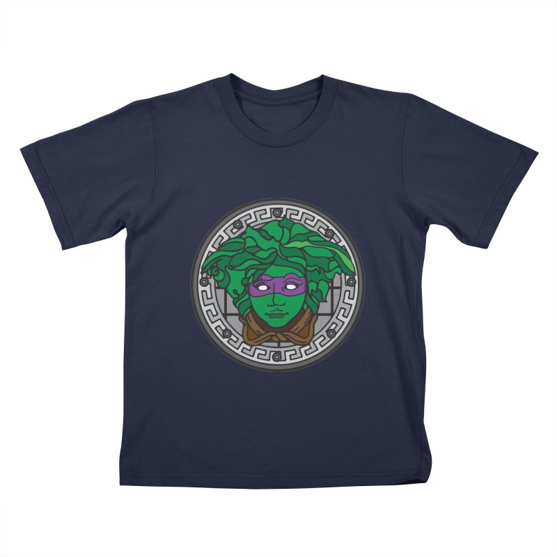 Donatello VERSACE Kids T-Shirt by VarieTeez Designs