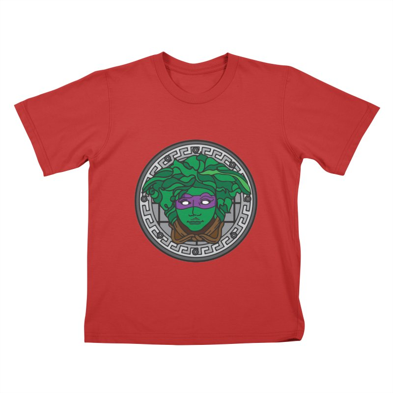 Donatello VERSACE Kids T-Shirt by VarieTeez Designs