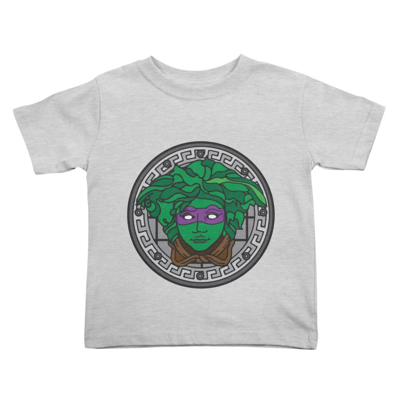 Donatello VERSACE Kids Toddler T-Shirt by VarieTeez's Artist Shop