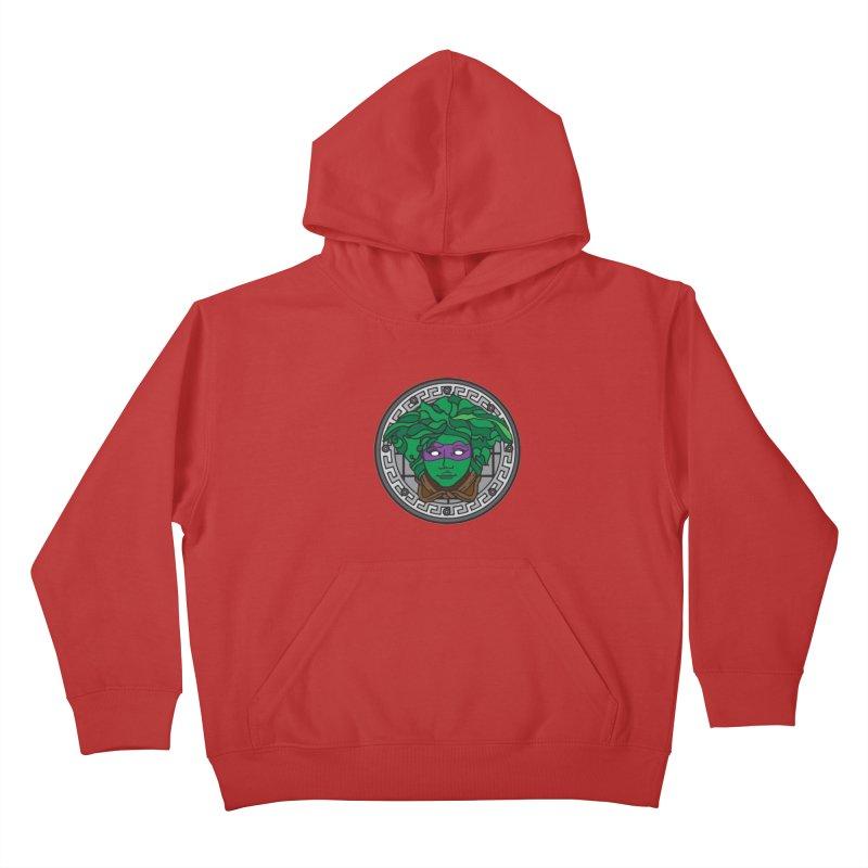 Donatello VERSACE Kids Pullover Hoody by VarieTeez Designs
