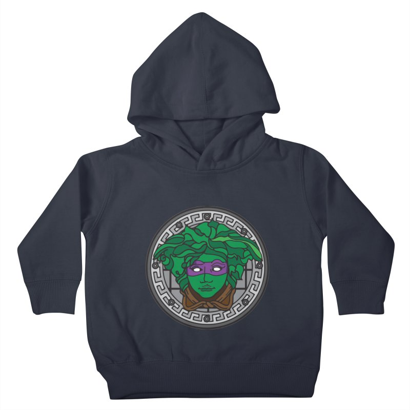 Donatello VERSACE Kids Toddler Pullover Hoody by VarieTeez Designs