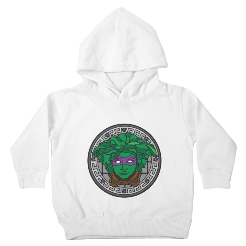 Donatello VERSACE Kids Toddler Pullover Hoody by VarieTeez's Artist Shop