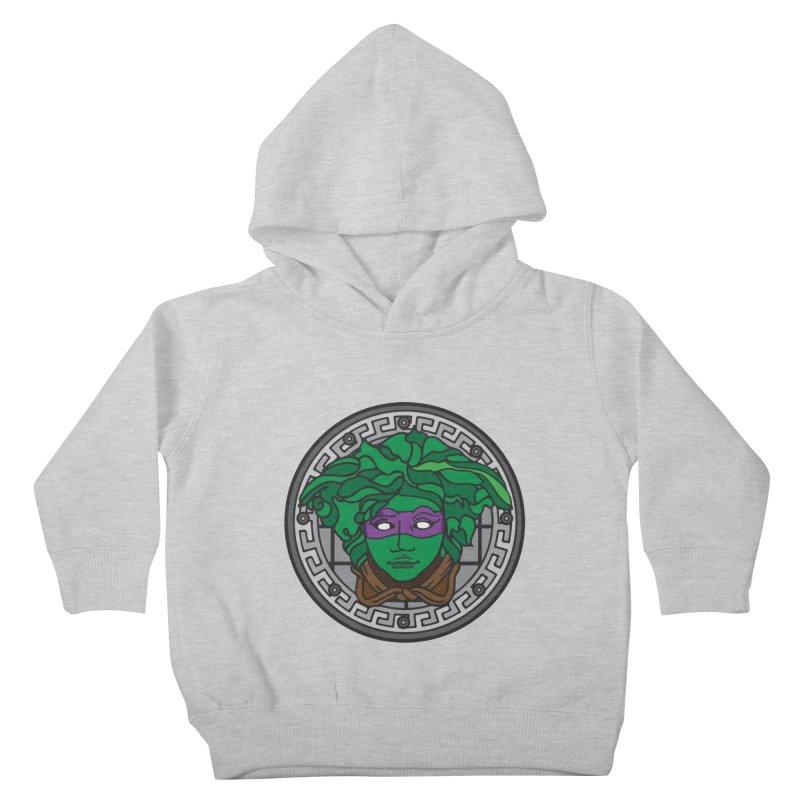 Donatello VERSACE Kids Toddler Pullover Hoody by VarieTeez Designs