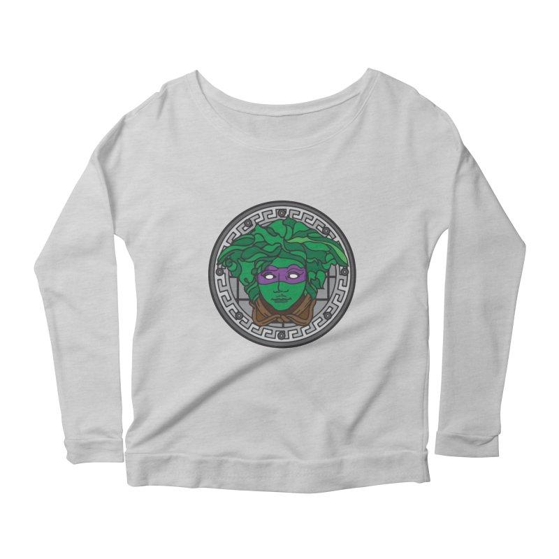 Donatello VERSACE Women's Scoop Neck Longsleeve T-Shirt by VarieTeez Designs