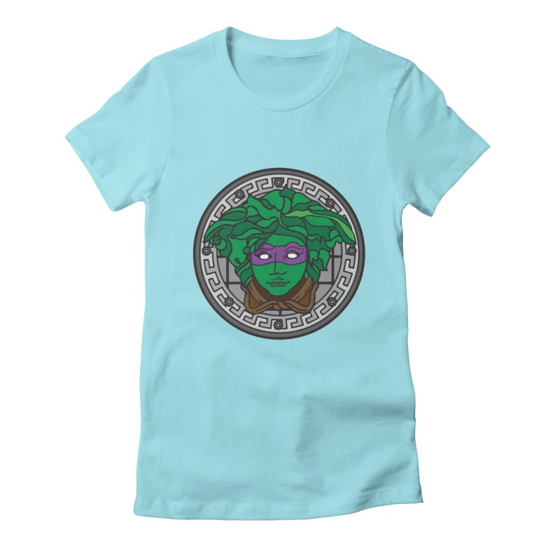 Donatello VERSACE Women's Fitted T-Shirt by VarieTeez Designs