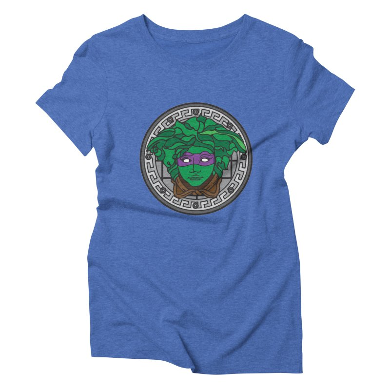 Donatello VERSACE Women's Triblend T-Shirt by VarieTeez Designs