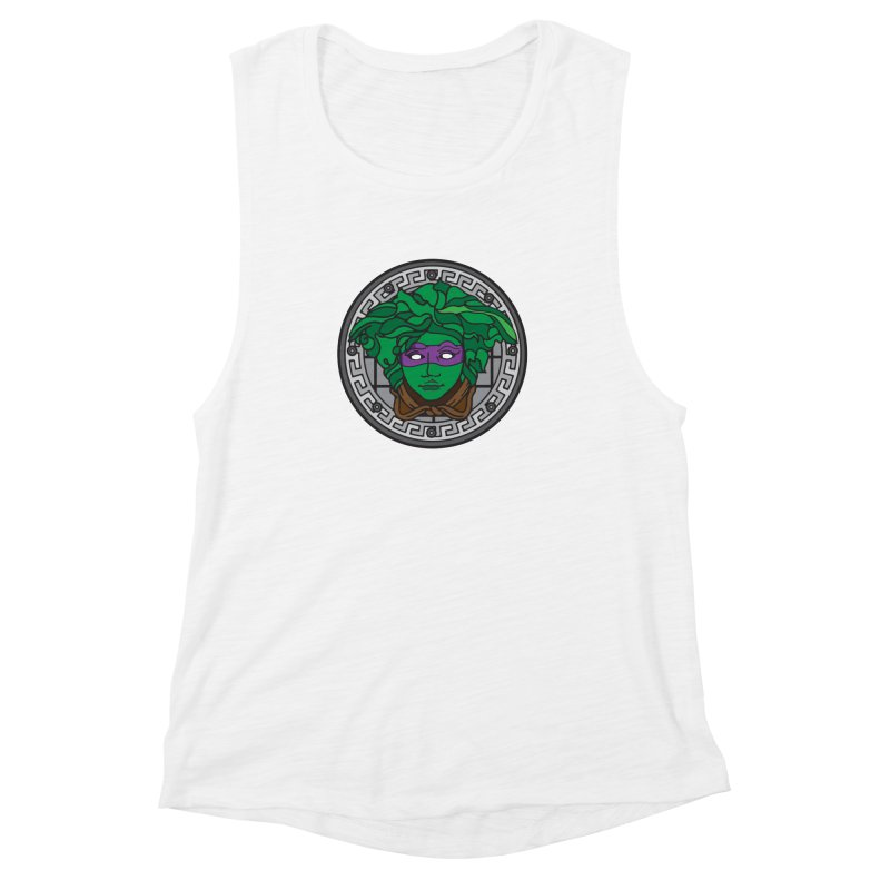 Donatello VERSACE Women's Muscle Tank by VarieTeez Designs