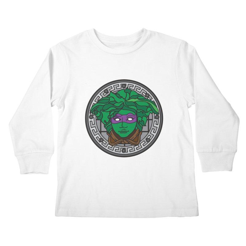 Donatello VERSACE Kids Longsleeve T-Shirt by VarieTeez Designs