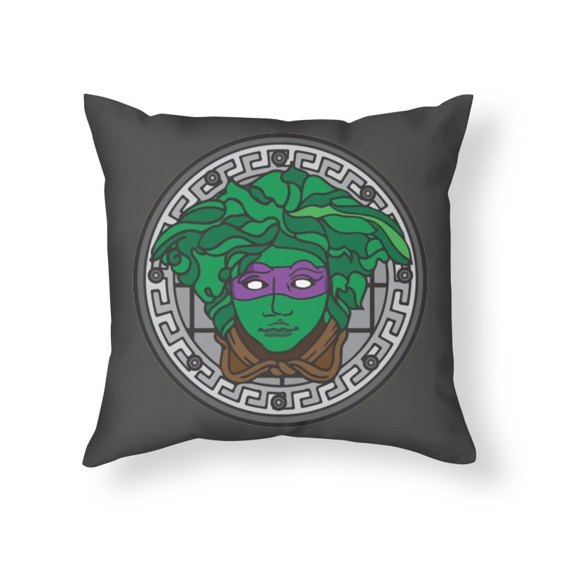 Donatello VERSACE Home Throw Pillow by VarieTeez Designs