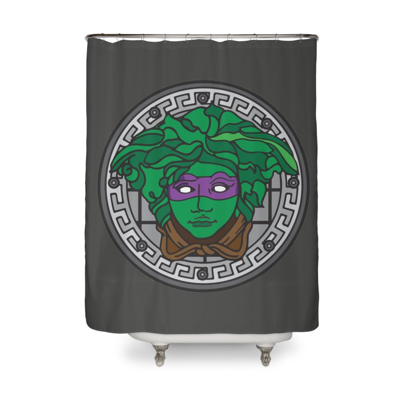 Donatello VERSACE Home Shower Curtain by VarieTeez Designs