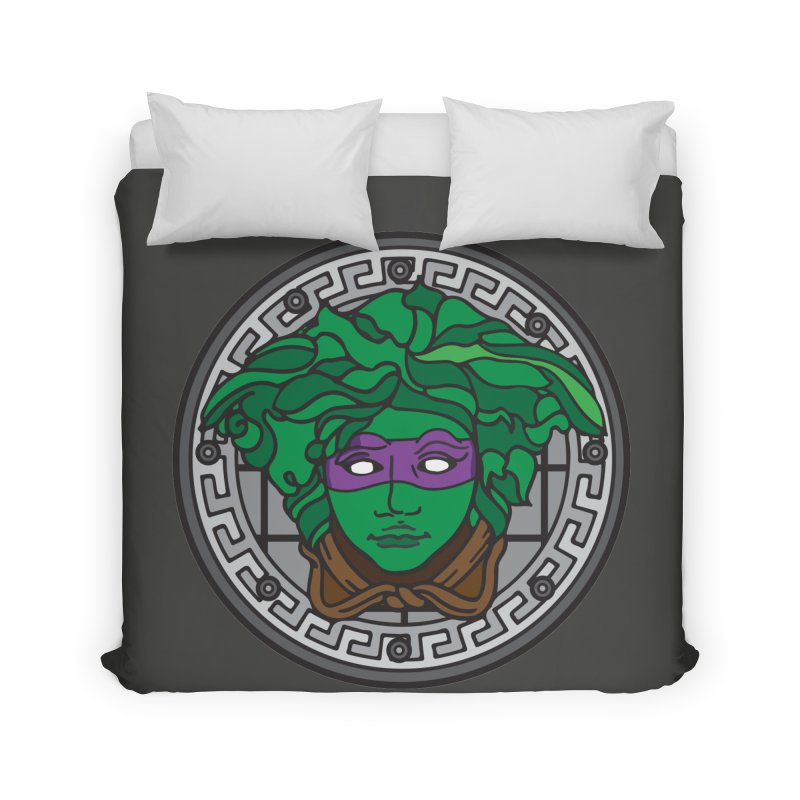Donatello VERSACE Home Duvet by VarieTeez Designs