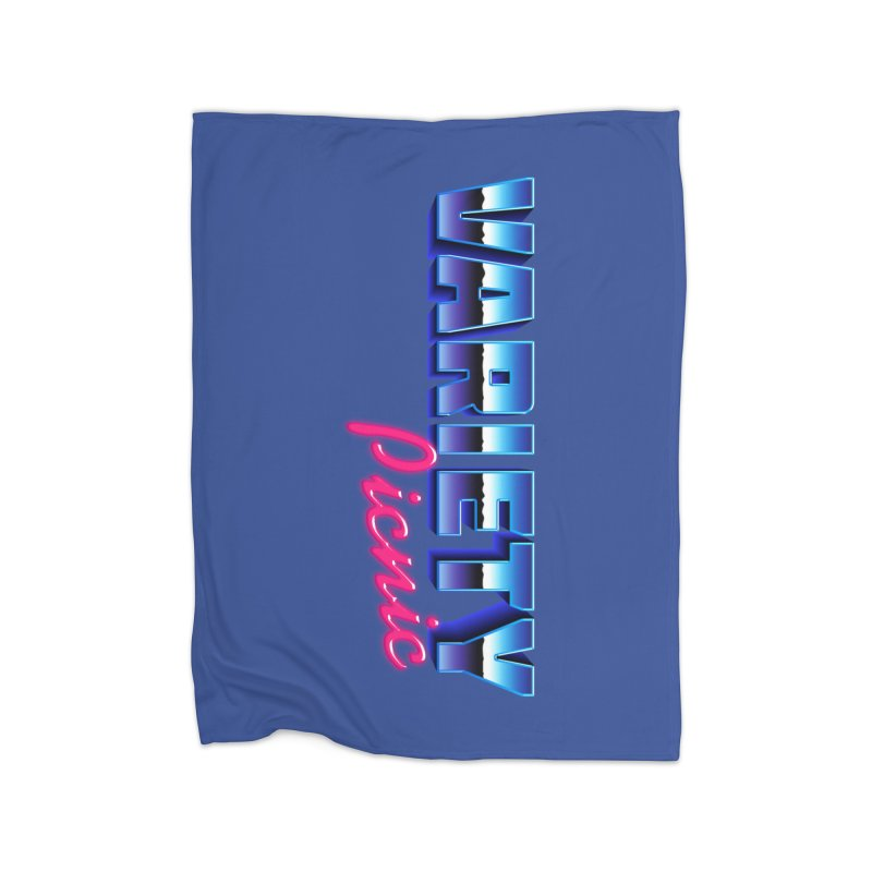 Variety Picnic Retro Logo Home Blanket by Variety Picnic