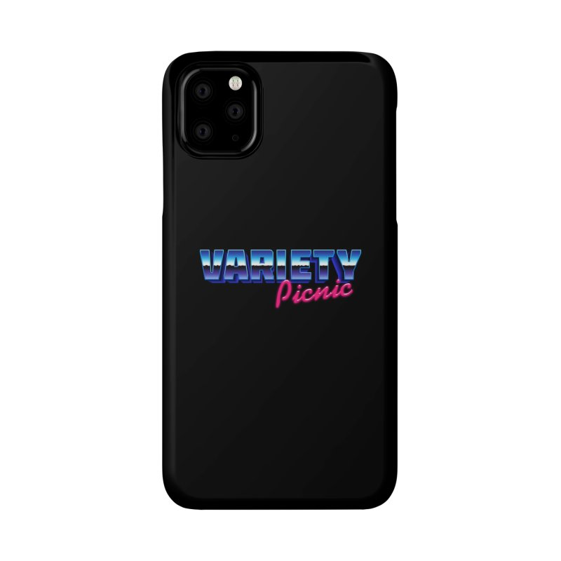 Variety Picnic Retro Logo Accessories Phone Case by Variety Picnic