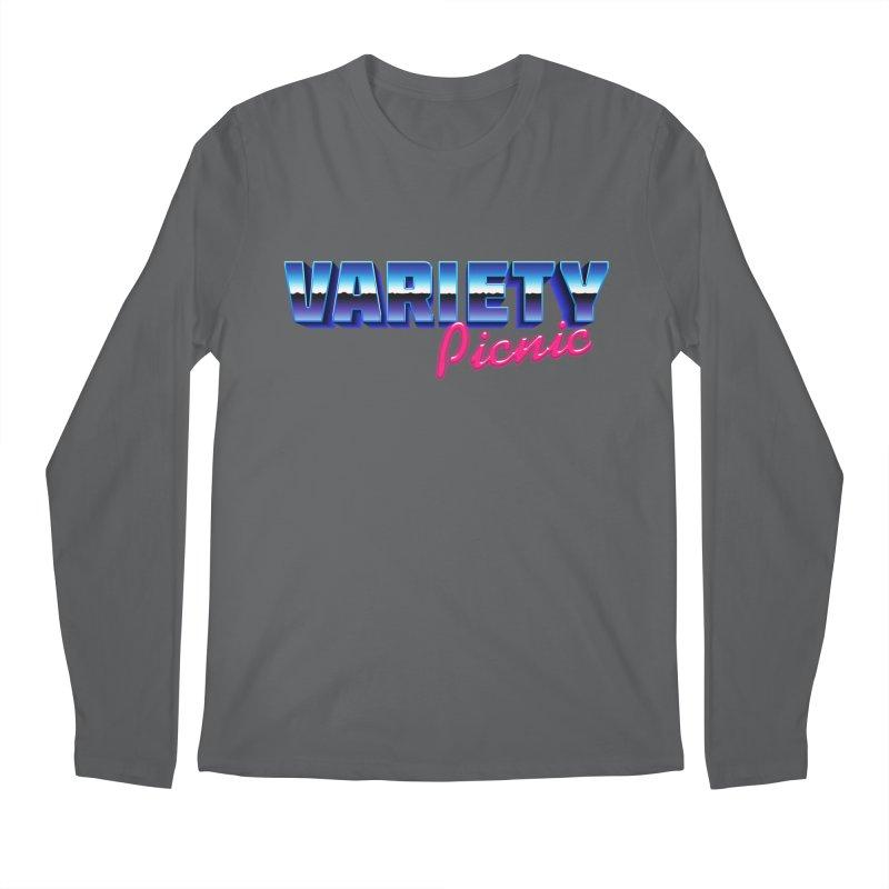 Variety Picnic Retro Logo Men's Longsleeve T-Shirt by Variety Picnic